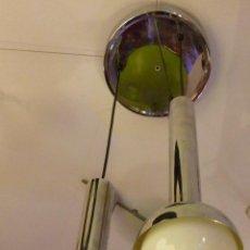 Vintage: LAMPARA TECHO 3 BOLAS COLGANTES VINTAGE. Lote 45659153