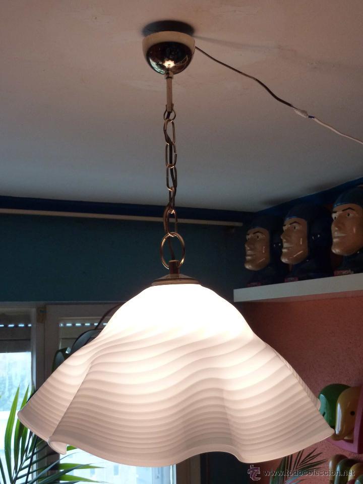 lampara techo campana murano marca vetri - Comprar Lámparas vintage ...