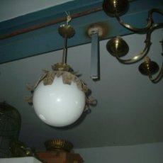 Vintage: LAMPARA GLOBO DE BOLA ESTILO DE LOS 60 - 70. Lote 45666224