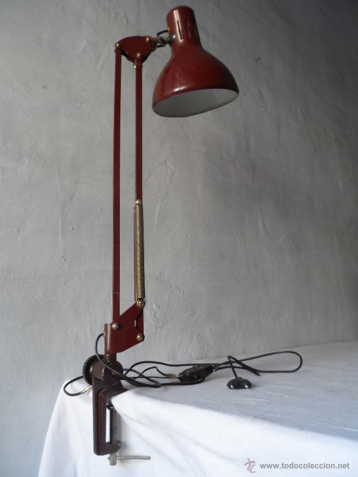 Lampara tipo industrial antigua comprar l mparas vintage apliques candelabros y faroles en - Lamparas tipo industrial ...
