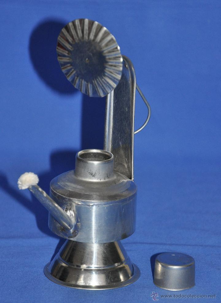 Vintage: Candil de hojalata artesanal. - Foto 4 - 46300913