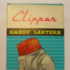 Vintage: LINTERNA CLIPPER (HONG KONG BRITISH EMPIRE) SIN USAR. Lote 46325909