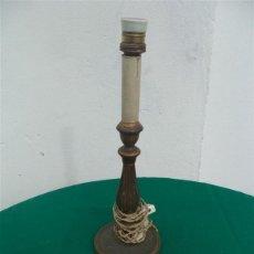 Vintage: LAMPARA SOBREMESA POLICROMADA. Lote 46362342