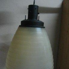 Vintage: RARA LAMPARA INDUSTRIAL AÑOS 70 RETRO VINTAGE. Lote 47558873