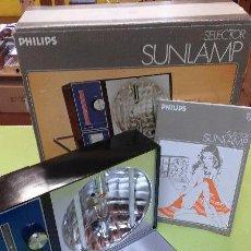 Vintage: LAMPARA SOLAR BRONCEADORA- VINTAGE SUNLAMP SELECTOR PHILIPS. Lote 47743332