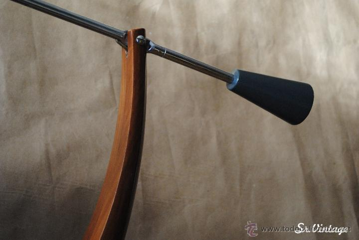 Vintage: Lámpara Fase Péndulo Vintage en tono gris. RETRO iluminación Madrid lampara fase - Foto 3 - 138551073