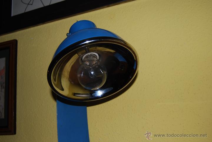 Vintage: ORIGINAL LÁMPARA DE SOBREMESA - METAL - DISEÑO INDUSTRIAL - AÑOS 50-60 - FLEXO DESPACHO - T - Foto 11 - 47879778