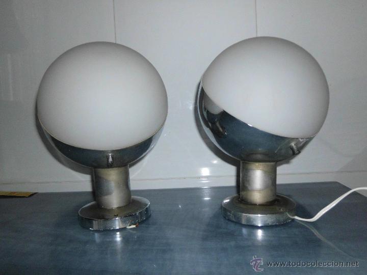 PAREJA DE APLIQUES VINTAGE (Vintage - Lámparas, Apliques, Candelabros y Faroles)