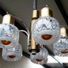 Vintage: LAMPARA DE GLOBOS, CALIDAD, VINTAGE. Lote 48166097