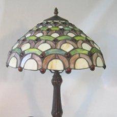 Vintage: LAMPARA DE SOBREMESA TIFANNY. Lote 48208229