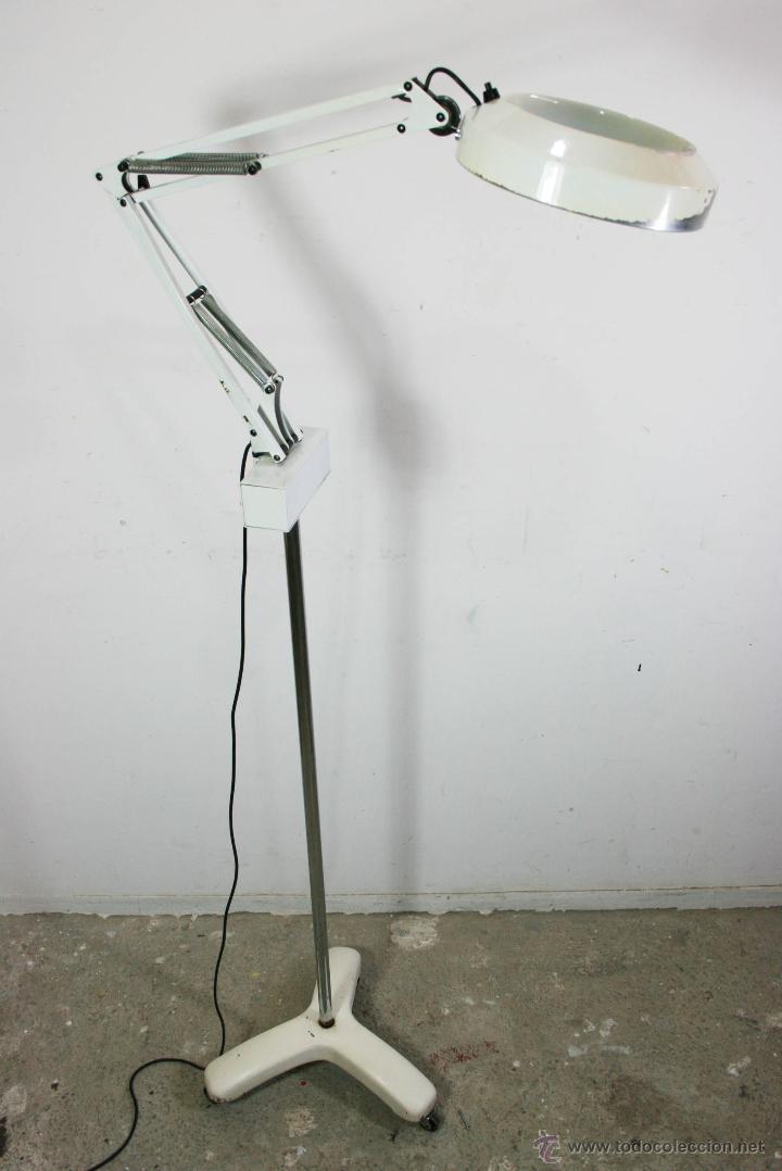fase Vendido con flexo en Lámpara pie lupaexploración de I76mfvYbgy