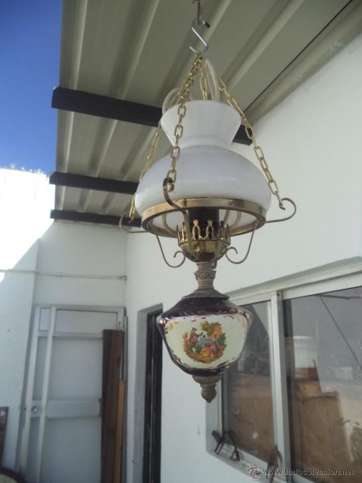 LAMPARA CANDIL (Vintage - Lámparas, Apliques, Candelabros y Faroles)