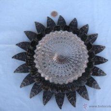 Vintage: LAMPARA PLAFÓN DE SOL. Lote 49262913