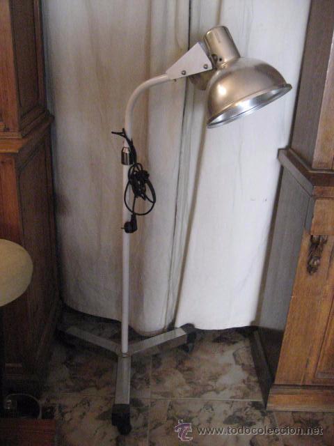 Lampara de pie industrial sube y baja con r comprar l mparas vintage apliques - Lampara de pie vintage ...