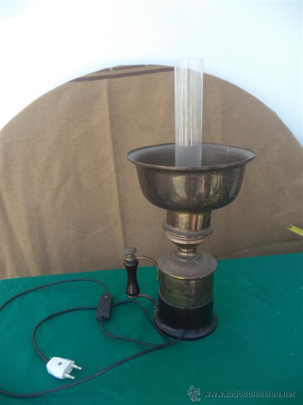 LAMPARA METAL (Vintage - Lámparas, Apliques, Candelabros y Faroles)