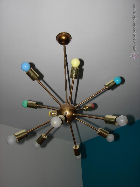 extraordinaria lampara de techo sputnik. estado - comprar lámparas