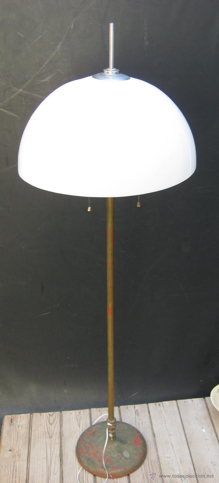 vintage lampara años Gran at pie tipo Sold seta diseño N8vnOm0w
