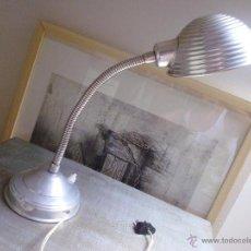 Vintage: FLEXO Ó LAMPARA DE ALUMINIO-VINTAGE. Lote 50414173