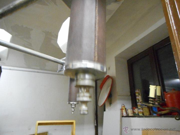 Vintage: gran lampara vintage espectacular diseño muy decorativa opalina cuadrada funcionando - Foto 5 - 50796170