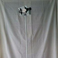 Vintage: LAMPARA REFLECTOR HALOGENO AÑOS 70, METAL LACADO BLANCO. Lote 51517938