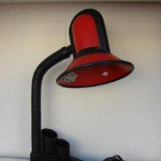 Vintage: LAMPARA DE MESA FASE CON ORGANIZADOR. AÑOS 70. Lote 51697852