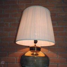 Vintage: ESPECTACULAR LAMPARA DE SOBREMESA, 1970 , METALARTE. Lote 51808635
