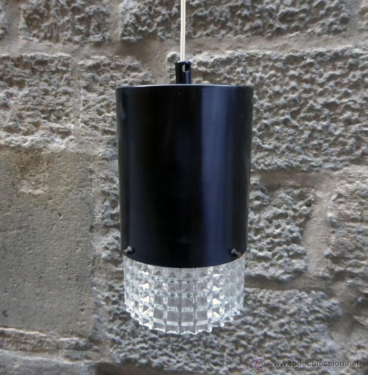 Vintage: Lámpara de techo danesa, años 60-70 - Foto 2 - 51846789