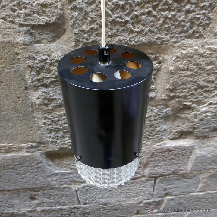 Vintage: Lámpara de techo danesa, años 60-70 - Foto 3 - 51846789