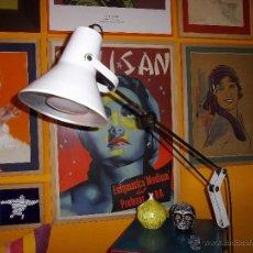 Vintage: RARO FLEXO LAMPARA ORIGINAL ESTILO MID CENTURY ALEMANIA REGULABLE BONITO DISEÑO SPACE AGE. Lote 51957588
