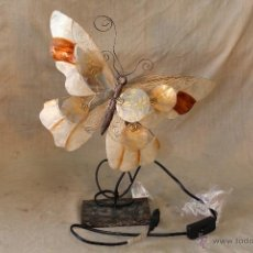 Vintage: LAMPARA MARIPOSA DE SOBREMESA. Lote 52026639