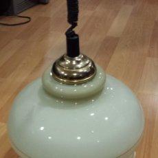 Vintage: LAMPARA CRISTAL VINTAGE. Lote 52428043