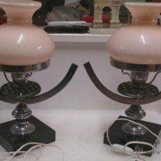 Vintage: 2 PRECIOSAS LAMPARAS DE MESITA. Lote 52705706