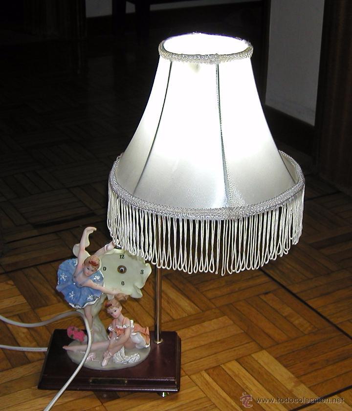 vintage graciosa lampara de mesa para decoracin vintage romntica shabby chic dcada bailarinas