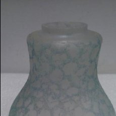 Vintage: PRECIOSA TULIPA GRABADA EN AZUL. Lote 52833880