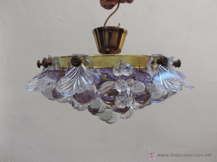 en Preciosa Vendu lámpara cristal de y techo latón 4 en srCxthdQ