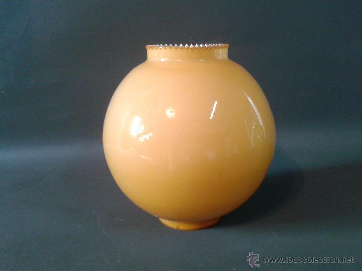 TULIPA NUEVA DE OPALINA (Vintage - Lámparas, Apliques, Candelabros y Faroles)