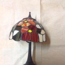 Vintage: LAMPARA TIFANY ROJA. Lote 52978486