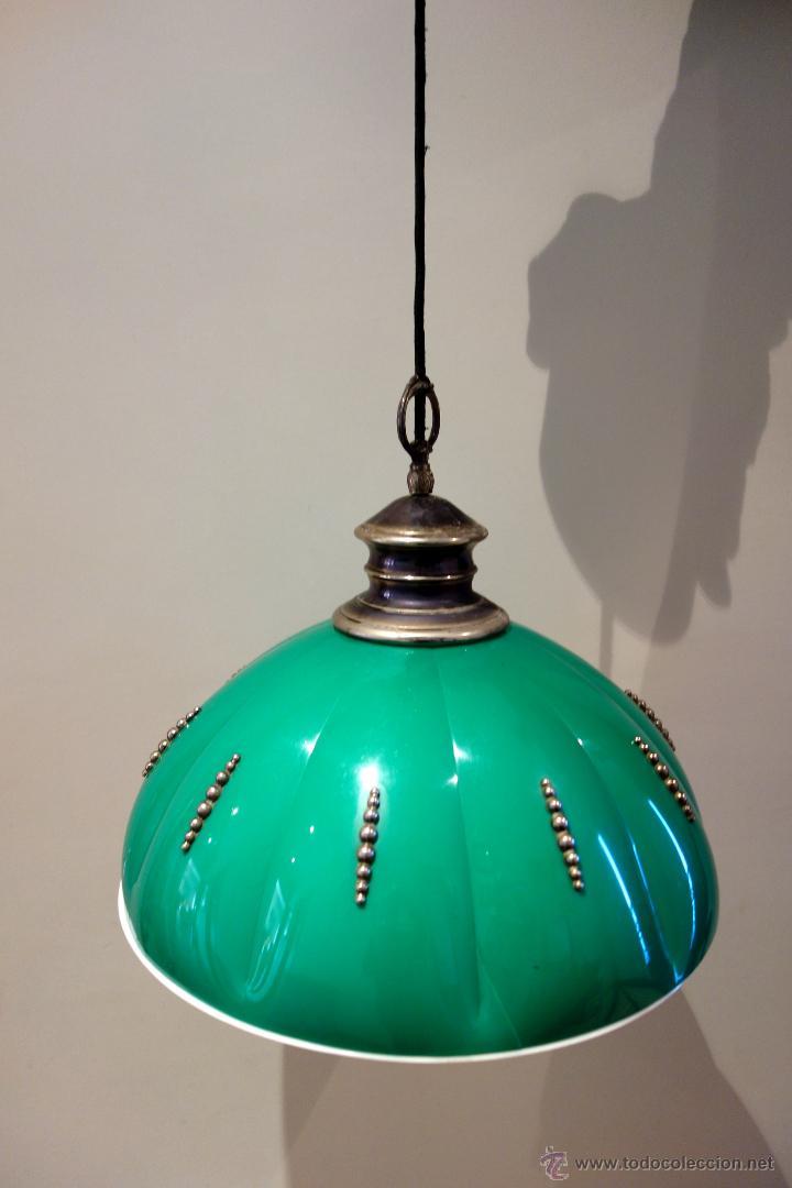 Vintage: Lámpara de techo vintage regulable sube baja años 60 70 plástico antigua retro - Foto 2 - 53029583