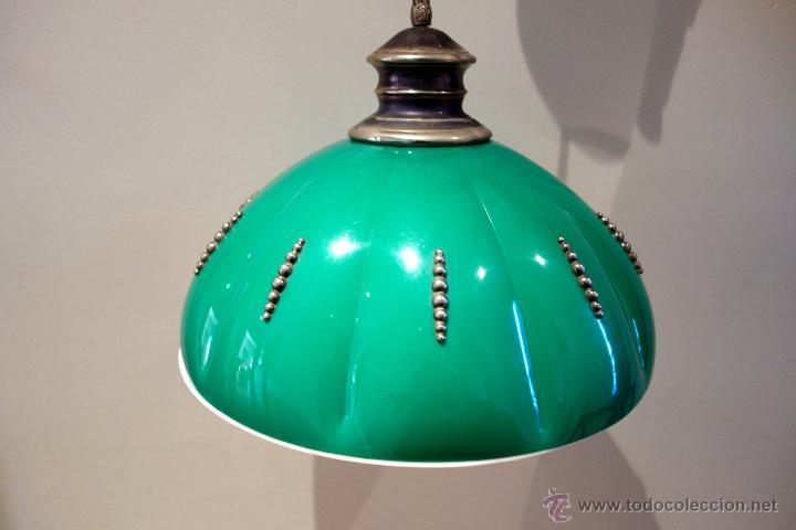 Vintage: Lámpara de techo vintage regulable sube baja años 60 70 plástico antigua retro - Foto 3 - 53029583
