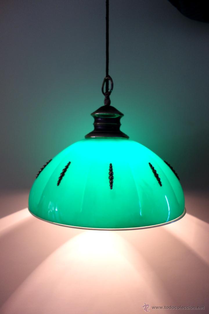 Vintage: Lámpara de techo vintage regulable sube baja años 60 70 plástico antigua retro - Foto 5 - 53029583