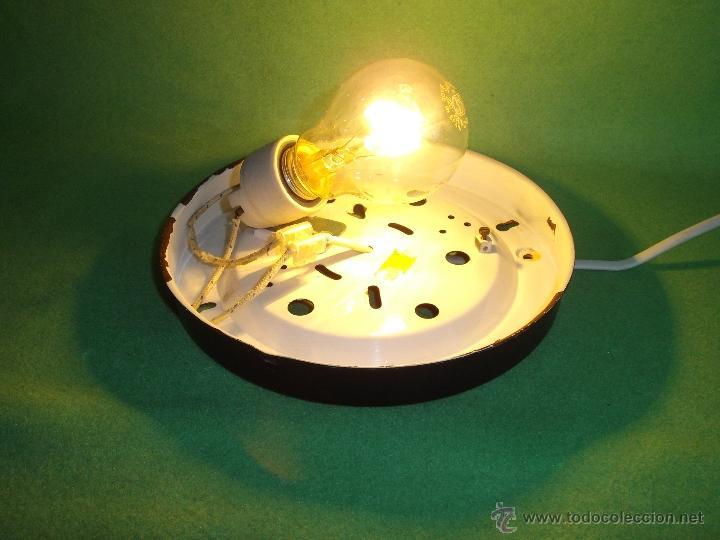 Vintage: IMPRESIONANTE LAMPARA PLAFON APLIQUE TECHO CRISTAL METAL ORIGINAL AÑOS 60 VINTAGE MID CENTURY - Foto 8 - 53125600