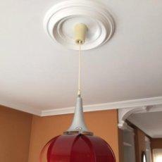 Vintage: ANTIGUA LAMPARA DE TECHO. VINTAGE ORIGINAL AÑOS 60. Lote 53324283