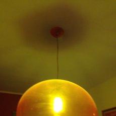 Vintage: LAMPARA KARTELL FLY NARANJA. Lote 155085373