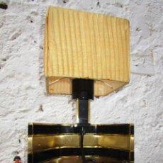 Vintage: LAMPARA VIP VINTAGE BRONCE DISEÑO ROMEO REGA ITALIA SIMILAR WILLY RIZZO. Lote 53638712