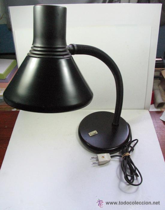 Vintage: ANTIGUA LAMPARA DE ESTUDIO EN METAL Y PLASTICO. MARCA FASE. DISEÑO. ESPAÑA. VINTAGE - Foto 2 - 53693037