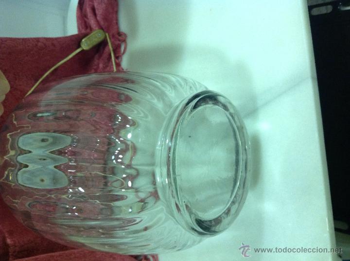 Vintage: LAMPARA MESA TIPO TIBOR DE CRISTAL - Foto 5 - 53753670
