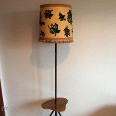Vintage: ANTIGUA LAMPARA DE PIE. VINTAGE ORIGINAL AÑOS 50. Lote 54010688