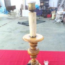 Vintage: LAMPARILLA DE MADERA. Lote 54073454