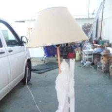 Vintage: LAMPARA ORIENTAL DE FIGURA DE ALABASTRO. Lote 54073478