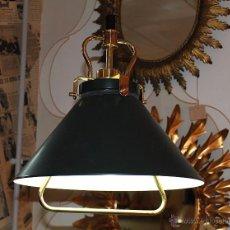 Vintage: LAMPARA VINTAGE TIPO BARCO. Lote 54253340